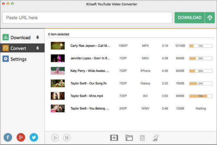 Xilisoft YouTube Video Converter latest version