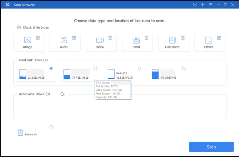 Apeaksoft Data Recovery windows
