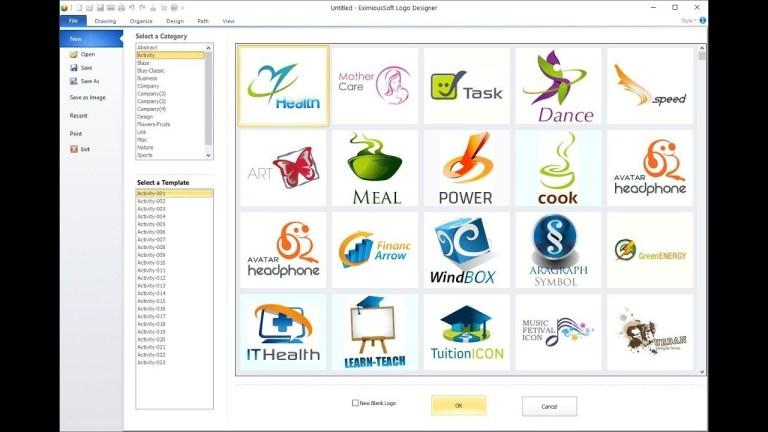 EximiousSoft Logo Designer windows