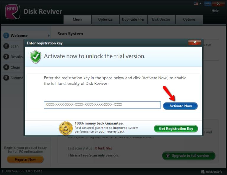 ReviverSoft Disk Reviver windows