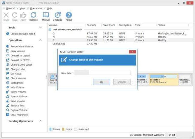 NIUBI Partition Editor latest version