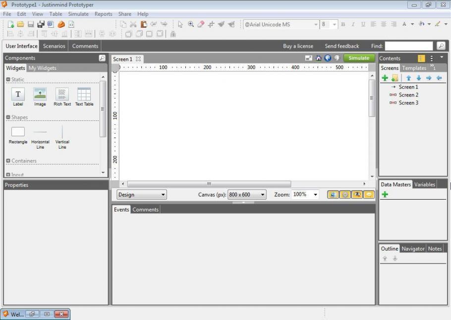 Justinmind Prototyper Pro latest version