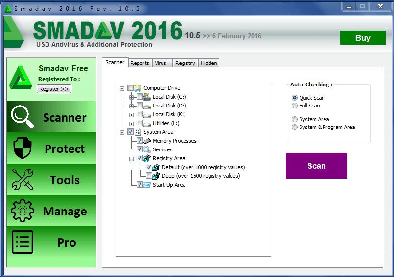 Smadav pro 2016 antivirus protection