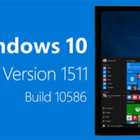 Windows 10 Version 1511 Build 10586 ISO Download