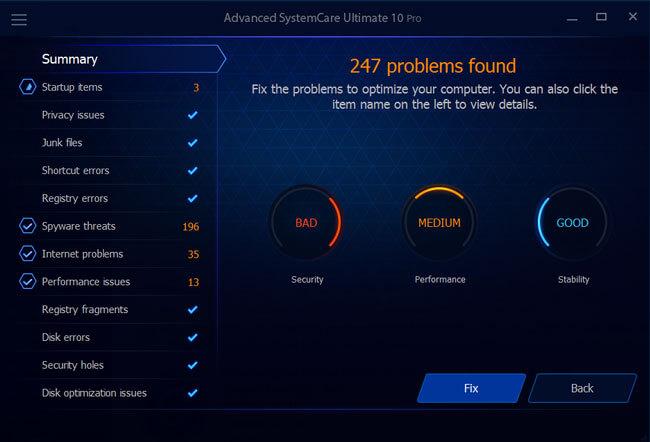 Problems Found