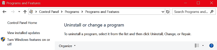control panel - unistall a program enable directplay windows 10