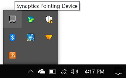 How to Disable touchpad Windows 10