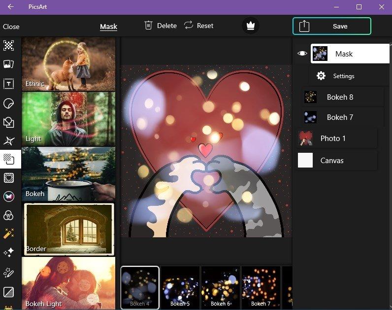 PicsArt for PC Download Screenshot