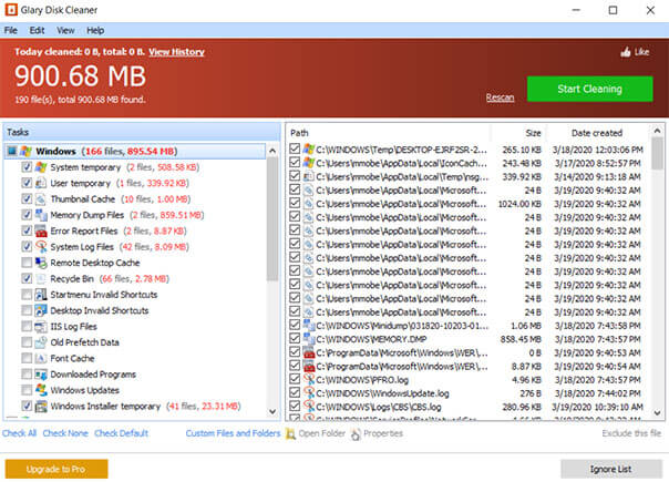 Glary Disk Cleaner Free Download For Windows 10