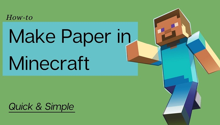 How to Make Paper in Minecraft (Quick & Simple) Softlay
