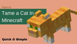 How to Tame a Cat in Minecraft - Complete Tutorial (2021)