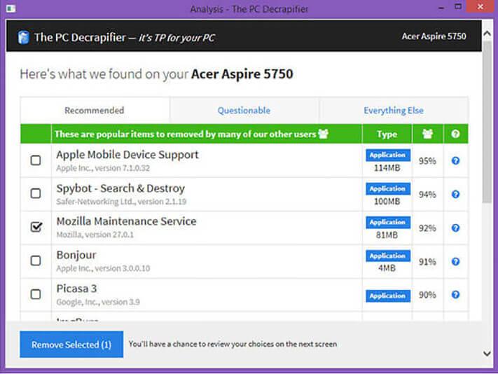 PC Decrapifier download for Windows PC