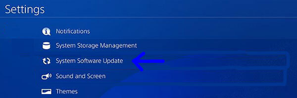 Update PS4 system software to fix games crashing