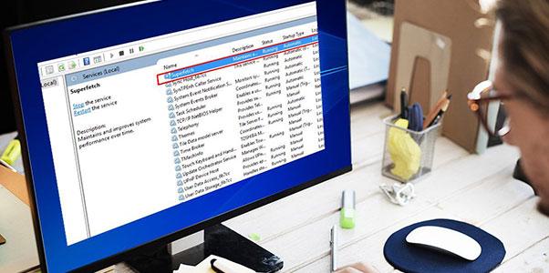 Service Host SuperFetch high CPU Usage