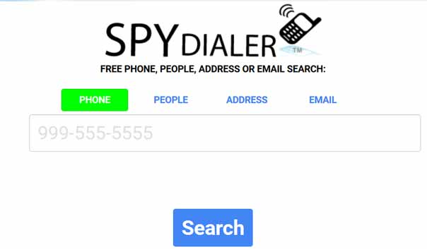 SpyDialer.com Best phone lookup service at no charge