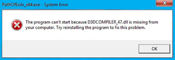 Download d3dcompiler_47.dll is missing Photoshop