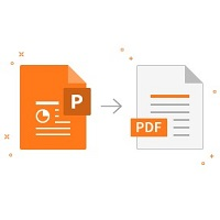 Small PPT to PDF