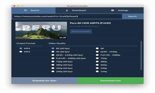 Snap Downloader Free Download