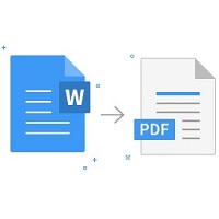 Small Word to PDF