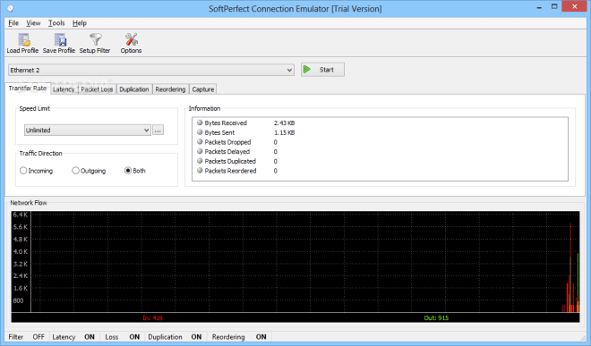 SoftPerfect Connection Emulator 1.7.10 Crack