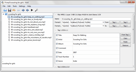 Kid3 Audio Tagger 3.6.2 Crack