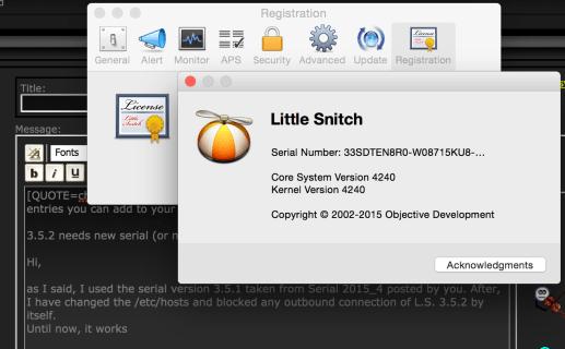 Little Snitch 4.1.3 Crack