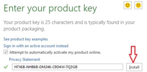 Microsoft Office 2016 Product Key Crack