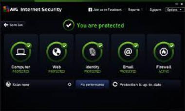 AVG Internet Security 21.8.3202 (32-bit) Crack 2021