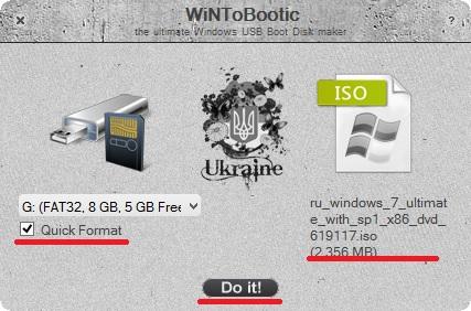 Skriv Windows 8 på et USB-flashdrev ved hjælp af WintObootic