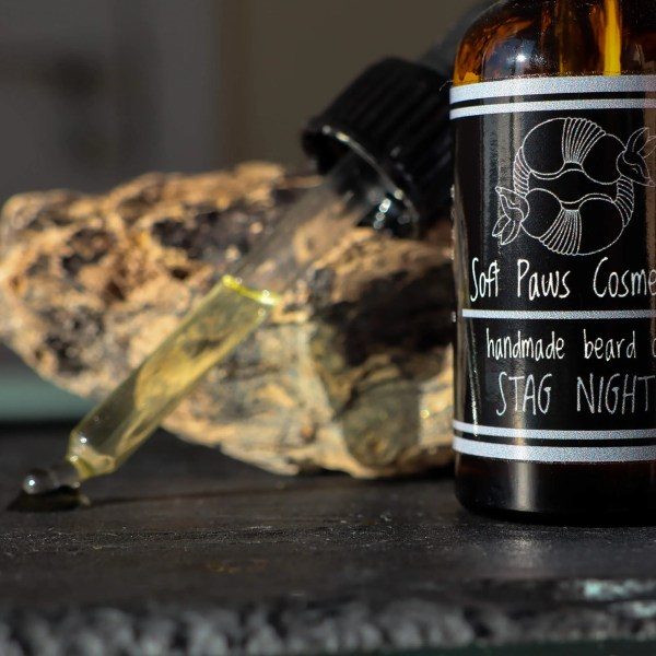 Stag Night - Beard Oil - Clary Sage, Spearmint, Vetiver, Patchouli
