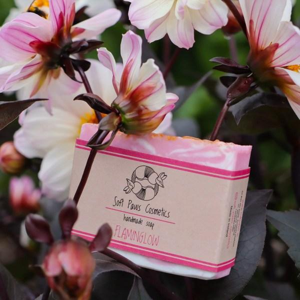 FlaminGlow - Handmade Soap - Rose Geranium