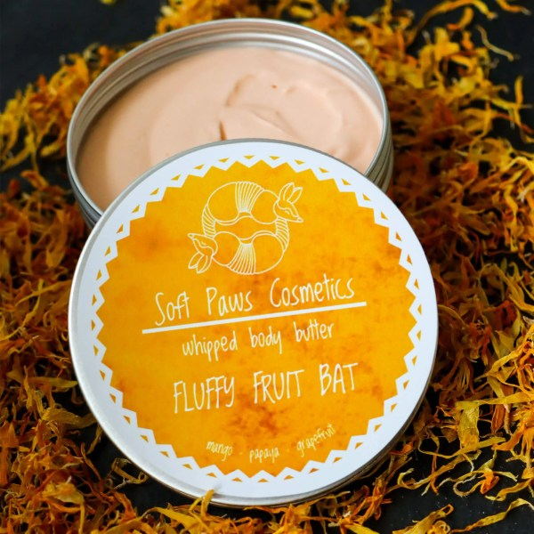 fluffy fruit bat - whipped body butter