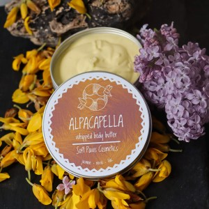 alpacapella whipped body butter