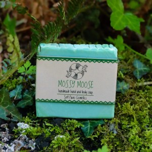 mossy moose handmade soap