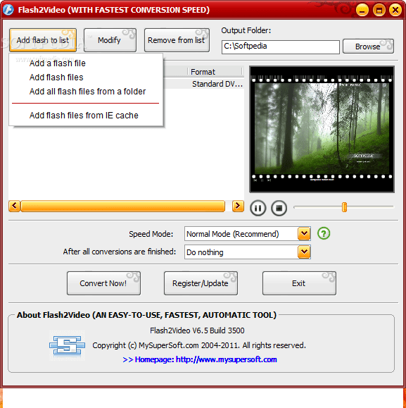 Flash2Video 3.0.6.490