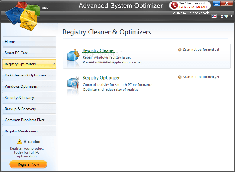 Advanced System Optimizer screenshot 3