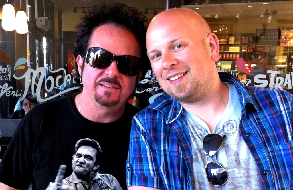 Steve Lukather and Lars-Erik Dahle