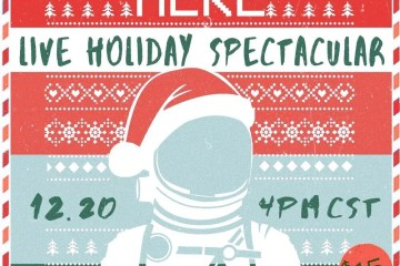 humans were here live holiday spectacular poster