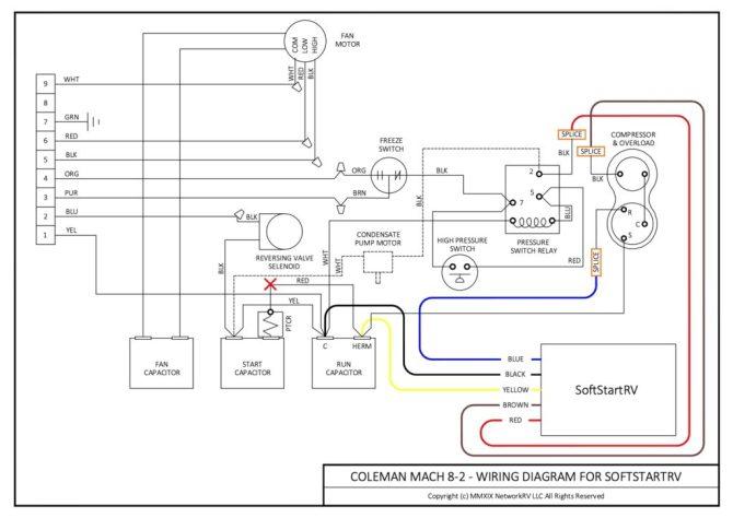 soft start for coleman mach 82 air conditioner  softstartrv