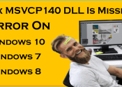 How To Fix MSVCP140 DLL Is Missing Error On Windows 7 , Windows 10, Windows 8