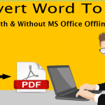 How To Convert Word To PDF In Windows 10