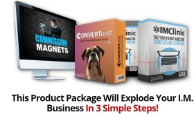 This Product Package Will Explode Your I.M. Business In 3 Simple Steps!