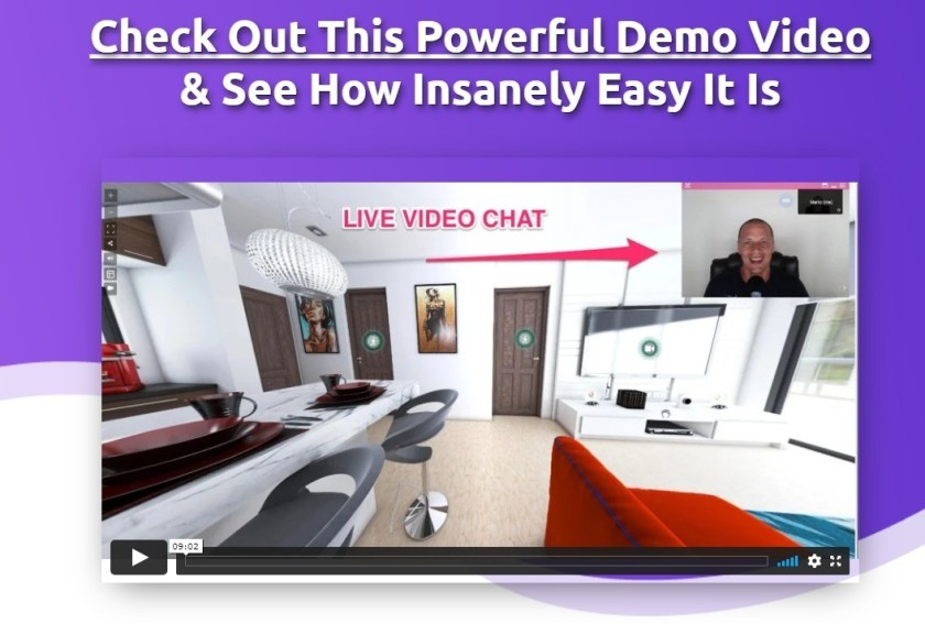 """My Virtual Tours: Combine The Power Of Virtual Tours & ZOOM-Like Video Calls For The First Time Ever and """"Cash In On The TWO HOTTEST Agency Trends Right Now, Creating & Selling 360 Virtual Tours + ZOOM-Like Live Video Calls For Up To $10,000 Per Tour""""  Local Businesses NEED This During The Pandemic & Beyond"""
