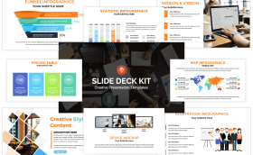 Slide Deck Kit Reviw: Discover The Slide Deck Kit, The World's First Multi-Purpose And Most Customizable PowerPoint Templates In The Market Today.
