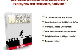 10 New Year 2021 PLR Articles. Get Them Now!