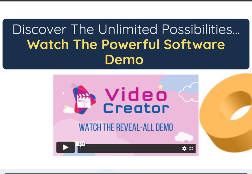 VideoCreator is The One-Stop Solution For All Your Video Needs...Build World-Class Animated Videos For Any Marketing Goal In ALL Shapes, Topics & Languages In 60 Seconds Or Less...