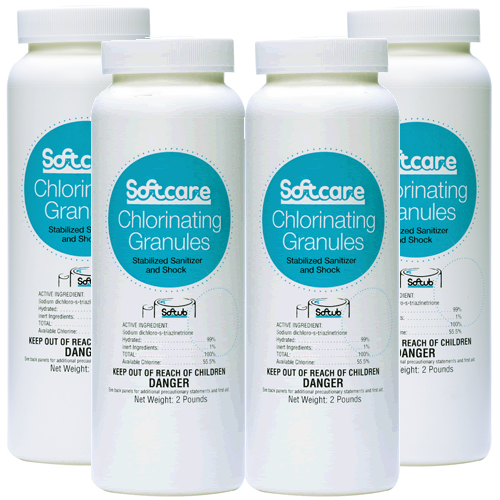 Softub Chlor 4 x 2 lbs