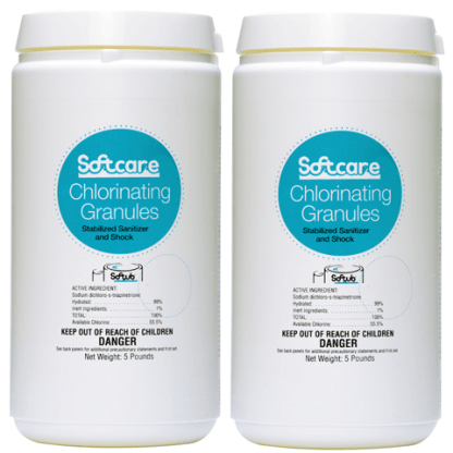 Softcare Chlorinating Granules - 2 X 5 lbs.