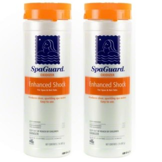 Spaguard Enhanced Shock Oxidizer Twin Pack