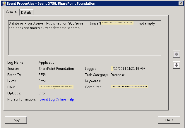 Event Viewer Security Userid